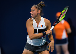 March 21, 2019 - Miami, FLORIDA, USA - Sara Sorribes Tormo of Spain in action during her second-round match at the 2019 Miami Open WTA Premier Mandatory tennis tournament (Credit Image: © AFP7 via ZUMA Wire)