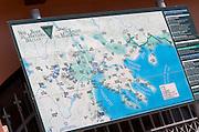 Wine district map. Wine Art Estate Winery, Microchori, Drama, Macedonia, Greece