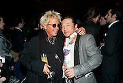JUSTIN DAVIES, Yohji Yamamoto exhibition opening. V & A Museum. London. 10 March 2011. -DO NOT ARCHIVE-© Copyright Photograph by Dafydd Jones. 248 Clapham Rd. London SW9 0PZ. Tel 0207 820 0771. www.dafjones.com.