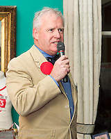 Ronan Beirne at the reunion night to celebrate 50 years of the Irish Fireball Class, held at the Royal St George YC.