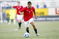Fotball , 1. juni 2012 , Euro qual. U21 Norge - Azerbaijan 1-0<br /> Norway - Azerbaijan<br /> Harmeet Singh , Norge