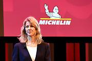 Presentatie van de Michelin Gids 2019 in het DeLaMar Theater. De gids geldt als de meest gezaghebbende culinaire gids.<br /> <br /> Op de foto: Mona Keijzer, staatssecretaris van Economische Zaken en Klimaat