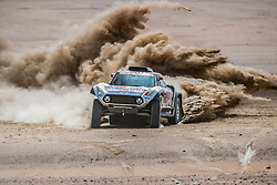 Stephane Peterhansel (FRA) of X-raid Mini JCW Team races during stage 4 of Rally Dakar 2019 from Arequipa to Tacna, Peru on January 10, 2019. // Flavien Duhamel/Red Bull Content Pool // AP-1Y3A5WQES2111 // Usage for editorial use only // Please go to www.redbullcontentpool.com for further information. //