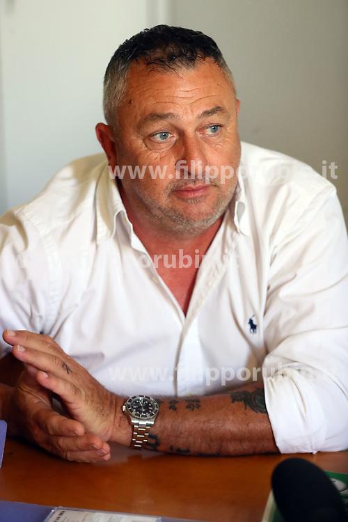 LUCA BRANCHI<br /> CONFERENZA STAMPA OMICIDIO WILLY BRANCHI NELLO STUDIO DELL'AVVOCATO SIMONE BIANCHI