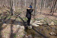 First Sunday in the Park. Geology of New Jersey at Rock Mill Preserve. Image taken with a Leica CL camera and 18 mm f/2.8 lens