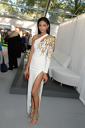 CHANEL IMAN at the Glamour Women of the Year Awards in association with Pandora held in Berkeley Square Gardens, London on 4th June 2013.