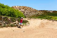 25-07-2016 Foto's persreis Golfers Magazine met Pin High naar Alicante en Valencia in Spanje. <br /> Foto: El Saler - links style en moeilijke bunkers.