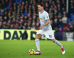 March 5, 2018 - London, United Kingdom - Manchester United's Nemanjo Matic.during the Premiership League  match between Crystal Palace and Manchester United at Selhurst Park Stadium in London, England on 05 March 2018. (Credit Image: © Kieran Galvin/NurPhoto via ZUMA Press)