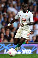 Senegal's Sadio Mane.Great Britain v Senegal Olympic 2012 Group A match at Old Trafford, Manchester United Kingdom on the 26th July 2012..Pic Simon Bellis/SPORTIMAGE.(Credit Image: © Sportimage/Simon Bellis/Sportimage/Cal Sport Media/ZUMAPRESS.com)