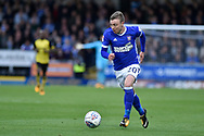Ipswich Town striker Martyn Waghorn (9) during the EFL Sky Bet Championship match between Burton Albion and Ipswich Town at the Pirelli Stadium, Burton upon Trent, England on 28 October 2017. Photo by Richard Holmes.
