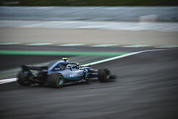 May 13, 2018 - Barcelona, Catalonia, Spain - VALTTERI BOTTAS (FIN) drives during the Spanish GP at Circuit de Barcelona - Catalunya in his Mercedes W09 EQ Power  (Credit Image: © Matthias Oesterle via ZUMA Wire)