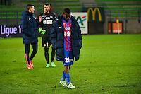 Deception Thomas LEMAR - 06.12.2014 - Caen / Nice - 17eme journee de Ligue 1 -<br />Photo : Dave Winter / Icon Sport