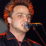 Harpengala 2003, Zilveren Harp winnaar, relax, gitarist Niels Zuiderhoek