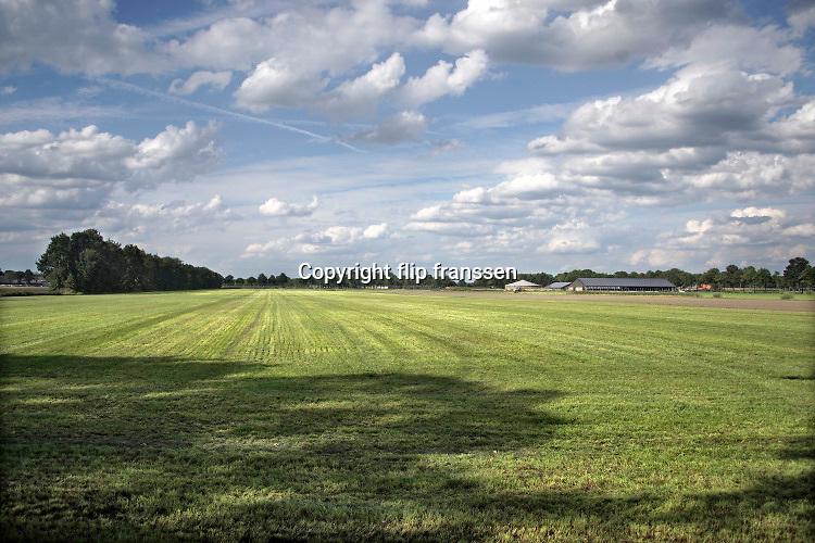 Nederland, Vredepeel, 19-8-2020 Initiatief voor een nieuwe woonvorm in de Peel . Boeren zouden land moeten beschikbaar stellen om een soort buurtschappen van Tiny Houses mogelijk te maken. Hier zou ook kleinschalige landbouw gepleegd moeten worden. Foto: ANP/ Hollandse Hoogte/ Flip Franssen
