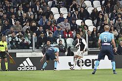 May 19, 2019 - Turin, Turin, Italy - Cristiano Ronaldo of Juventus FC and Andrea Masiello,  of Atalanta BC during the Serie A match at Allianz Stadium, Turin (Credit Image: © Antonio Polia/Pacific Press via ZUMA Wire)