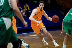 Kresimir Radovcic KK Helios Suns during 9. round of Slovenian national championship between teams Helios Suns and Zlatorog Lasko in Sport Hall Domzale on 30. November 2019, Domzale, Slovenija. Grega Valancic / Sportida