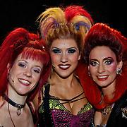 NLD/Utrecht/20100903 - Premiere Queen musical We Will Rock You, Pia Douwes, Marjolein Teepen en Floortje Smit