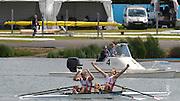 Eton Dorney, Windsor, Great Britain,..2012 London Olympic Regatta, Dorney Lake. Eton Rowing Centre, Berkshire.  Dorney Lake.  ..Men's Lightweight Doubles, medal ceremony, gold Medalist. DEN LM2X, Rasmus QUIST and Mads RASMUSSEN...12:27:54  Saturday  04/08/2012 [Mandatory Credit: Peter Spurrier/Intersport Images]