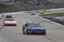 November 3, 2018 - Ft. Worth, Texas, United States of America - Justin Allgaier (7) battles for position during the O'Reilly Auto Parts Challenge at Texas Motor Speedway in Ft. Worth, Texas. (Credit Image: © Justin R. Noe Asp Inc/ASP via ZUMA Wire)