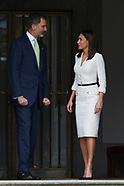 051418 Spanish Royals attend a lunch with President of Colombia at Zarzuela Palace