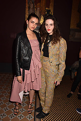 """Bee Beardsworth and Daisy Maybe at the opening of """"Frida Kahlo: Making Her Self Up"""" Exhibition at the V&A Museum, London England. 13 June 2018."""