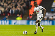 Tottenham Hotspur defender Davinson Sanchez during the Champions League match between Tottenham Hotspur and Juventus FC at Wembley Stadium, London, England on 7 March 2018. Picture by Toyin Oshodi.