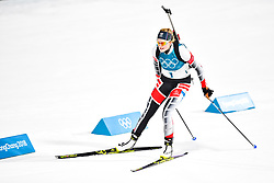 February 10, 2018 - Pyeongchang, South Korea - 180210 Lisa Theresa Hauser of Austria  competes in the Women's Biathlon 7,5 km Sprint during day one of the 2018 Winter Olympics on February 10, 2018 in Pyeongchang..Photo: Petter Arvidson / BILDBYRN / kod PA / 87614 (Credit Image: © Petter Arvidson/Bildbyran via ZUMA Press)