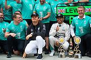 October 8-11, 2015: Russian GP 2015: Lewis Hamilton (GBR), Mercedes, Nico Rosberg  (GER), Mercedes