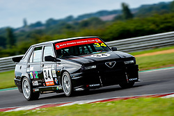 George Osborne pictured competing in the ARCA Alfa Romeo Championship. Image captured at Snetterton on July 18, 2020 by 750 Motor Club's photographer Jonathan Elsey