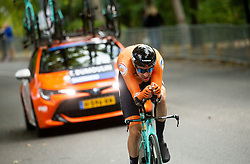DUMOULIN Tom  of Netherlands competes during Men Time Trial at UCI Road World Championship 2020, on September 24, 2020 in Imola, Italy. Photo by Vid Ponikvar / Sportida