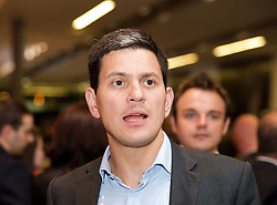 David Miliband MP during the Labour Party Annual Conference in Manchester, Great Britain, September 30, 2012 Photo by Elliott Franks / i-Images.