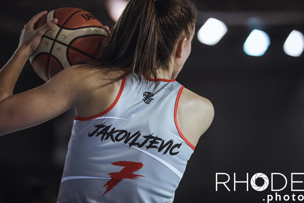 2019-02-09<br /> LFB (Ligue Féminine de Basketball) France<br /> ESBVA LM - Asvel Lyon Féminin : 69 - 76
