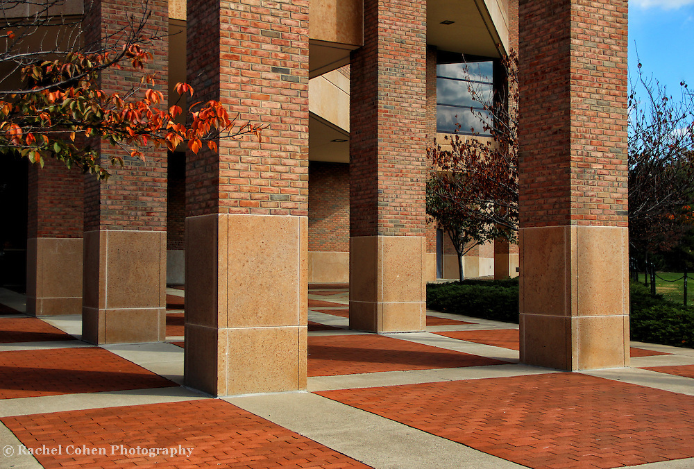 """""""Columns Squared""""<br /> <br /> Wonderful columns and squares create a beautiful geometric architectural image!!<br /> <br /> Architecture, structures, buildings and their details by Rachel Cohen"""