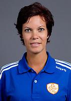 Den Bosch - 2012 Jong Oranje dames , U18, Fysio Maaike Brugmans.  COPYRIGHT KOEN SUYK