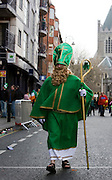 St. Patrick walks the streets of Dublin,  Dublin, St. Patrick's Day, 2009
