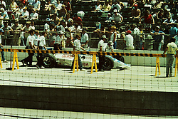 Indianapolis Time Trials, May 1987<br /> #24 - Randy Lewis.<br /> <br /> A scan from an old photo or slide from the collection of Alan and Becky Look dated 1987 and 1988.
