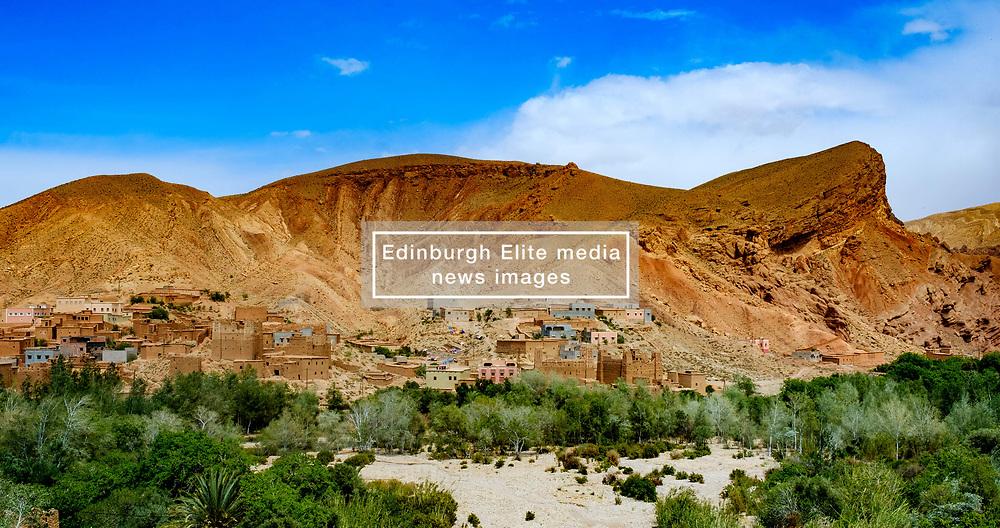 The mountain village of Imzzoudar (Imzoudar) in the Dades Valley, Morocco<br /> <br /> (c) Andrew Wilson | Edinburgh Elite media