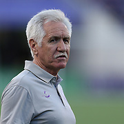 ORLANDO, FL - APRIL 23: Orlando Pride head coach Tom Sermanni is seen during a NWSL soccer match between the Houston Dash and the Orlando Pride at the Orlando Citrus Bowl on April 23, 2016 in Orlando, Florida. (Photo by Alex Menendez/Getty Images) *** Local Caption *** Tom Sermanni