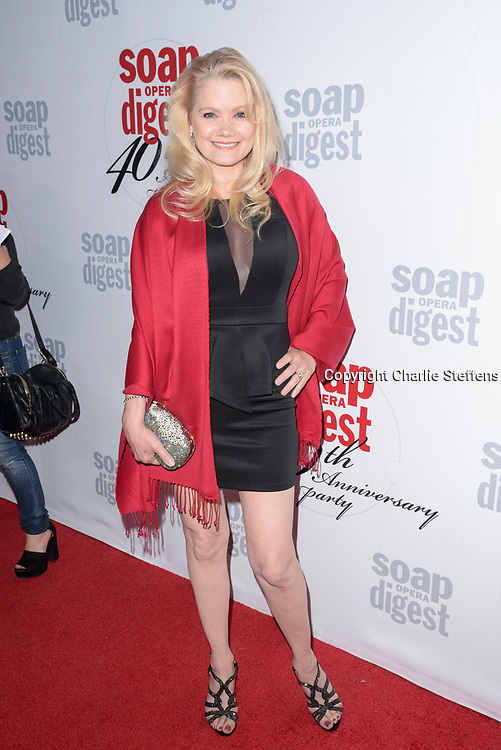 JACEE JULE at Soap Opera Digest's 40th Anniversary party at The Argyle Hollywood in Los Angeles, California