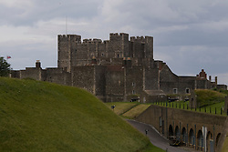 Dover/Kent/England - Dover Castle, with its spectacular views across the channel to France, its 'secret' WWII tunnels and its reconstructions of the 1216 Siege of the Castle and Henry VIII's Court will reward a long visit. Dover is a major port on the south-east coast of England. Situated in the county of Kent, it faces France across the English Channel.