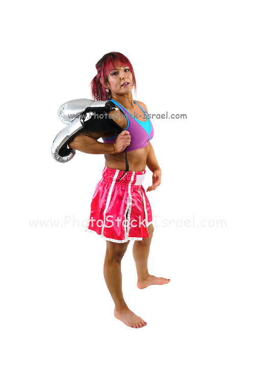 Female Kick Boxer