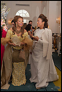 CARMEN OTEDOLA; LAURENCE RANCE, Florence Heoluwa 'Cuppy' Otedola Marie Antoinette Graduation party. Mandarin Oriental, Knightsbridge25th of July 2014.