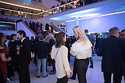LADY KATHERINE WORSLEY; GERALDINE PRIEVR; , Alexandra Shulman, Sir Terence Conran and Deyan Sudjic co -host the opening party of the new Design Museum  in the former Commonwealth Institute pavilion, High Street Kensington London. 22 November 2016.