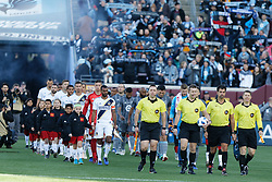 October 21, 2018 - Minneapolis, MN, USA - Minneapolis, MN - Sunday October 21, 2018: Minnesota United FC played Los Angeles Galaxy in a Major League Soccer (MLS) game at TCF Bank stadium. Final score Minnesota United 1, Los Angeles Galaxy 3 (Credit Image: © Jeremy Olson/ISIPhotos via ZUMA Wire)