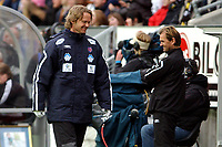 Fotball Eliteserien 10.04.05 - Rosenborg ( RBK ) - Aalesund  2-2, en fornøyd Ivar Morten Normark<br />                          <br /> Foto. Carl-Erik Eriksson, Digitalsport