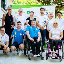 20210706: SLO, Paralympic - Press conference before Paralympic games
