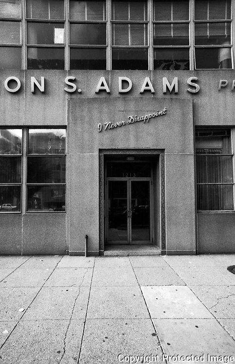 Byron S. Adams Printing Company, 12th and M Street NW Washington DC
