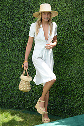 June 3, 2017 - Jersey City, NJ, USA - June 3, 2017 Jersey City, NJ..Jessica Hart attending the Veuve Cliquot Polo Classic at Liberty State Park on June 3, 2017 in Jersey City, NJ. (Credit Image: © Kristin Callahan/Ace Pictures via ZUMA Press)