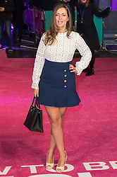 © Licensed to London News Pictures. 09/02/2016. London, UK. FRAN NEWMAN-YOUNG attends the UK film premiere of 'How To Be Single'.  The film is about a woman writing a book about bacherlorettes who becomes embroiled in an international affair while researching abroad<br /> Photo credit: Ray Tang/LNP