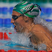 Mirna Jukic, Austria, in action during the Women's 200m Breaststroke heats at the World Swimming Championships in Rome on Thursday, July 30, 2009. Photo Tim Clayton..